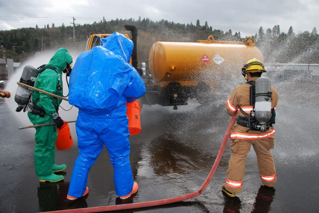 Hazardous material technicians