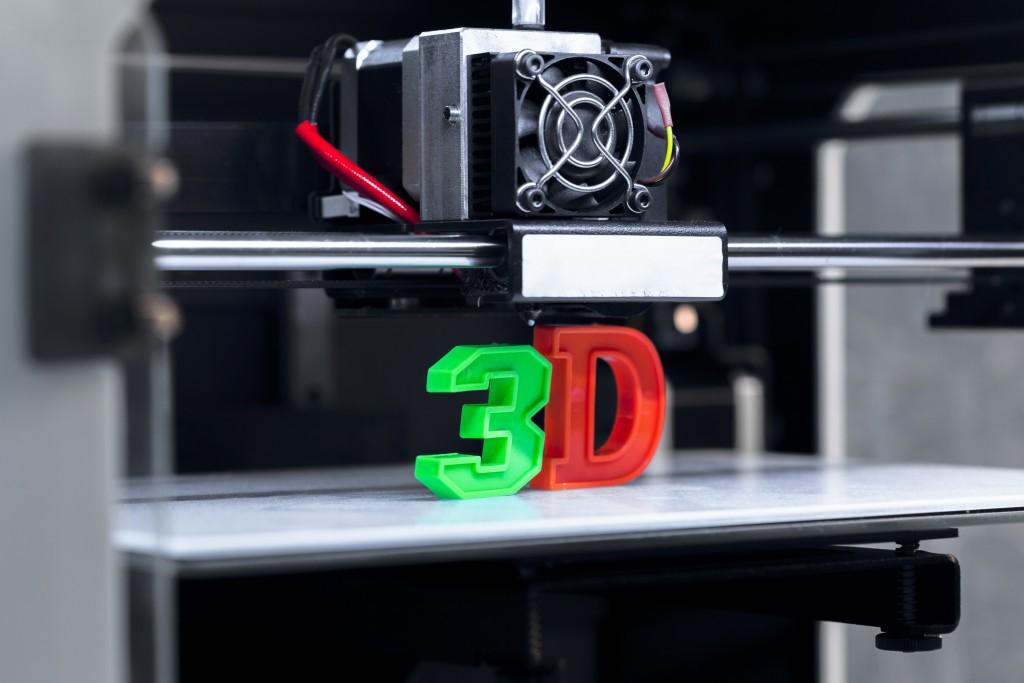 3D printing piece