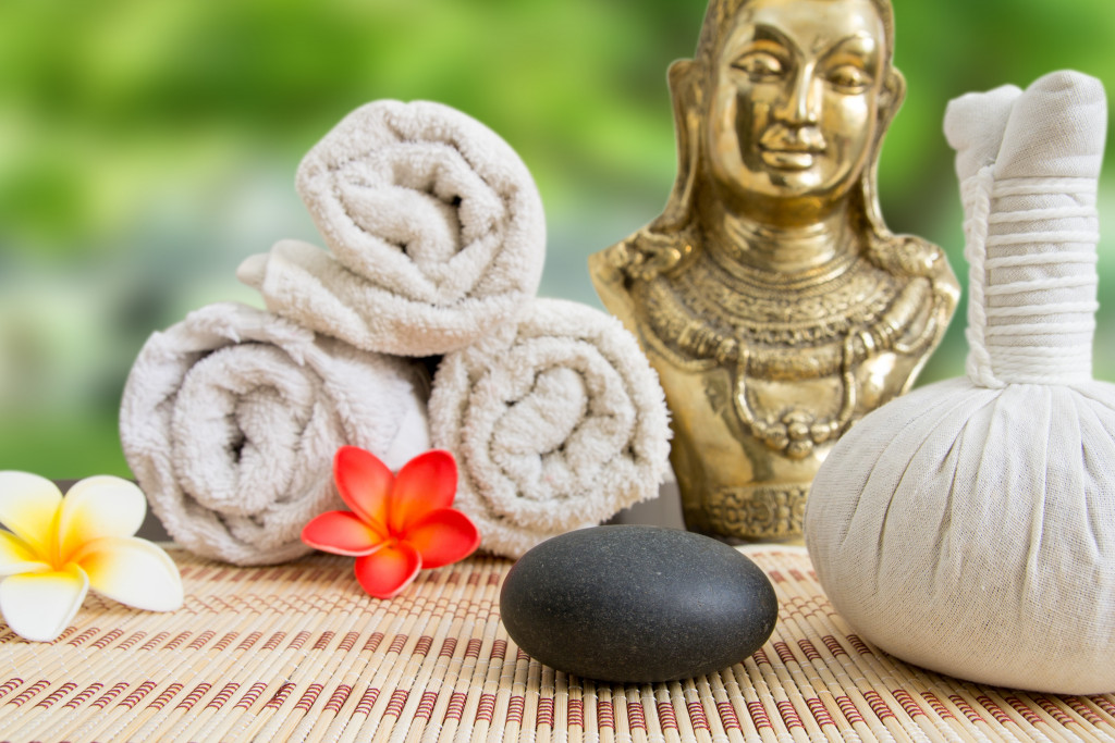 spa and wellness business items