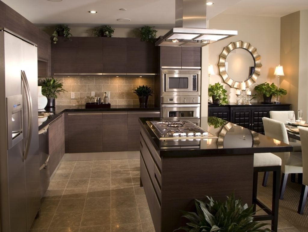 apartment modern kitchen